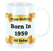 2020 60th Birthday White 11oz Ceramic Mug & Gift Box - 1960 Was A Special Year