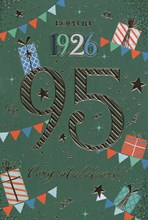 2021 95th Male Birthday Card - 1926 Was A Special Year - Age 95