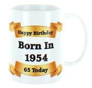 2020 65th Birthday White 11oz Ceramic Mug & Gift Box - 1955 Was A Special Year