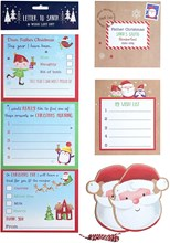 Letter to Santa with Wish List and Santa Tags