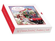 Box Of 10 Winter Scenic Premium Inserted Christmas Cards - Santa Express