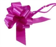 Large Fuchsia Pink Pull Bow - Ideal As Gift Wrap, Florist, Wedding Bow