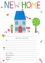 Pack of 20 New Home Change of Address Sheets & Envelopes