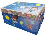 Children's Treasure Chest Toy Storage Box - Blue Blast Off Astronaut & Rockets