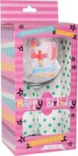 Fabulous 40 Celebration Wine Glass & Pink Presentation Box - 40th Birthday Gift
