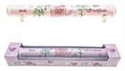 Little Bird & Ellie Ceramic Birth Certificate Scroll Holder & Pink Gift Box