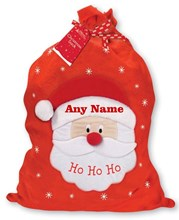 "Giant Children's Personalised Felt Christmas Santa Sack - Any Name 30"" x 18.5"""