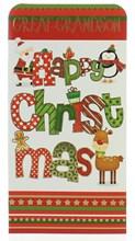 "Great Grandson Christmas Money Wallet Gift Card & Envelope-  7x3.5"""