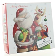 Bumper Box Of 30 Cute Christmas Cards - 6 Cute Designs Per Pack