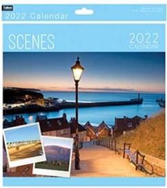 2022 Square Month To View Scenic Photo Wall Calendar - Scenes