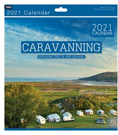 2021 Square Month To View Vehicle Photo Wall Calendar - Caravanning
