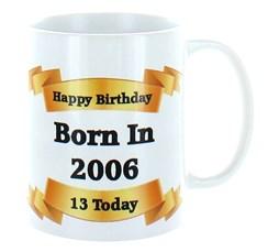 2020 13th Birthday White 11oz Ceramic Mug & Gift Box - 2007 Was A Special Year