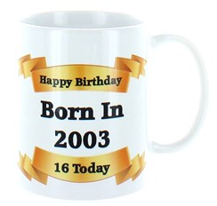 2020 16th Birthday White 11oz Ceramic Mug & Gift Box - 2004 Was A Special Year