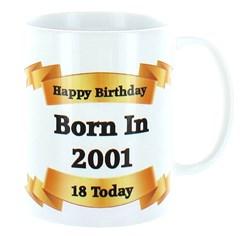 2020 18th Birthday White 11oz Ceramic Mug & Gift Box - 2002 Was A Special Year