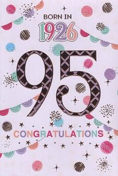 2021 95th Female Birthday Card - 1926 Was A Special Year - Age 95