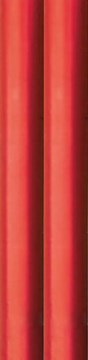 4m Metallic Foil Effect Gift Wrapping Paper - 2 x 2m Roll's - Plain Red