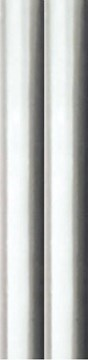8m Foil Effect Gift Wrapping Paper - 2 x 4m Roll's - Plain Silver