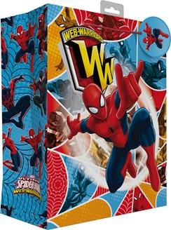 "Large Children's Marvel Gift Bag - Spider-Man Colourful Web Warrior 13"" x 10.5"""