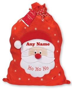 "Giant Children's Personalised Felt Christmas Santa Sack - Any Name 30"" x 18.5"""