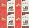 Pack of 8 Christmas Money Wallet Gift Cards & Envelopes - Modern Traditional