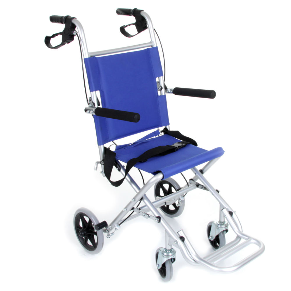 Ambulance Plus Transfer Chair Transit Wheelchair. 5056059100715 | eBay