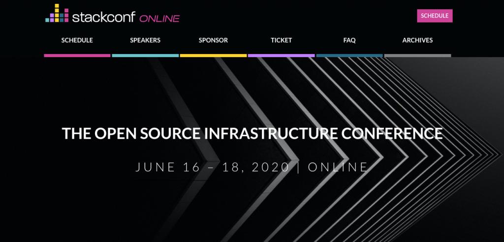 open source virtual tech conferences