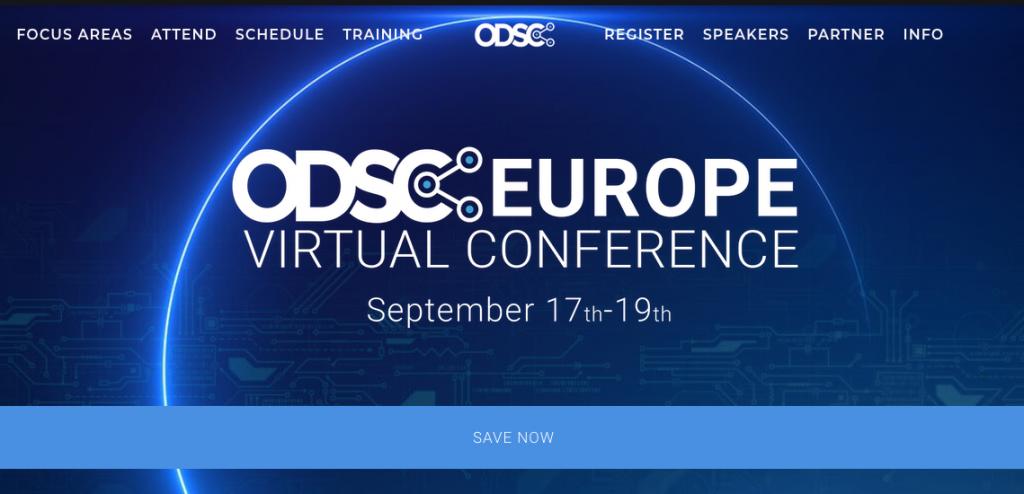 virtual tech conferences odsc