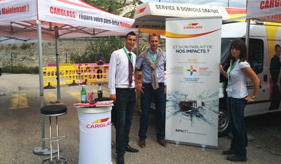 Les organisateurs de la journée de diagnostic vitrage gratuit à Grenoble en 2014