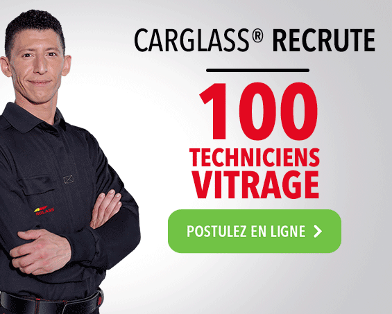 Carglass® recrute 200 techniciens