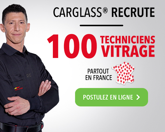 carglass® recrute 100 techniciens