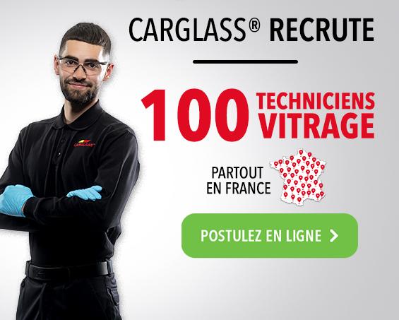 carglass® recrute 100 techniciens