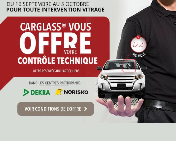 carglass vous offre le contrôle technique