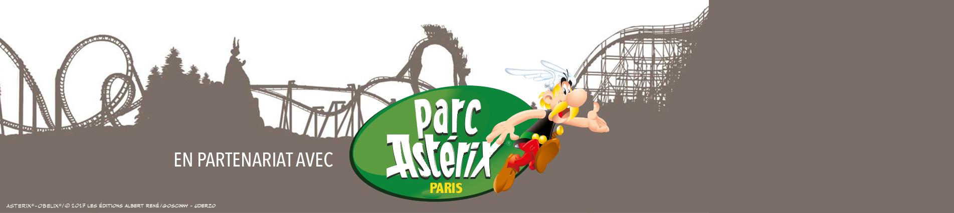 CARGLASS s'installe au parc Astérix