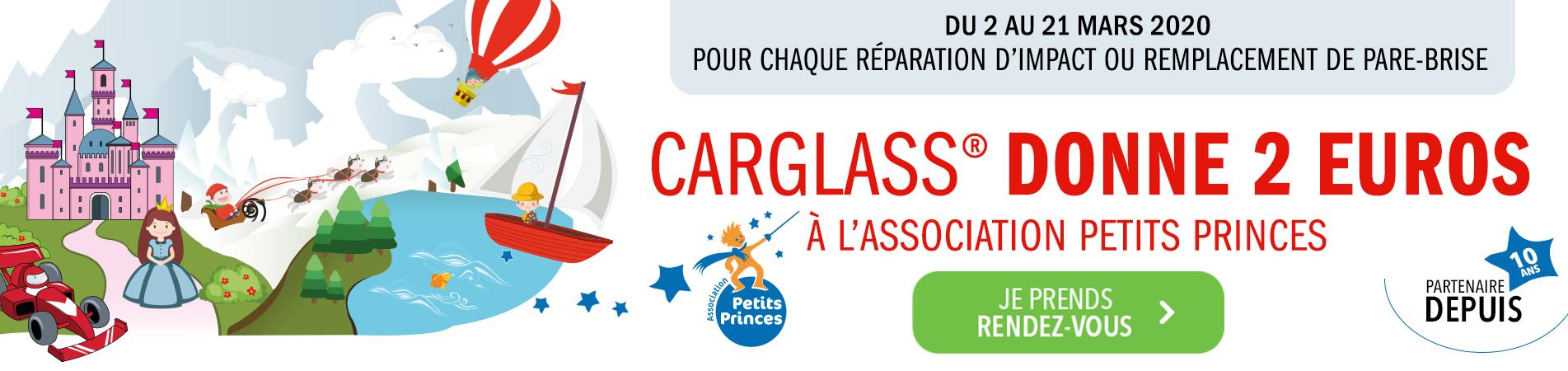 carglass® partenaire de l'Association Petits Princes