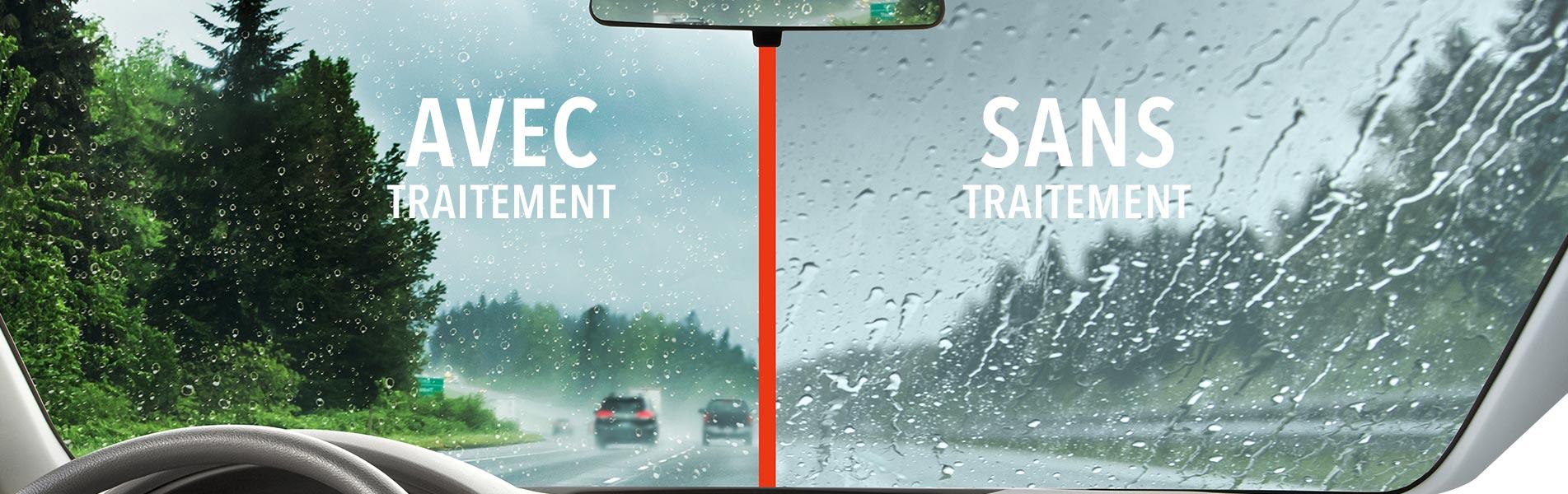 promo traitement carglass anti-pluie