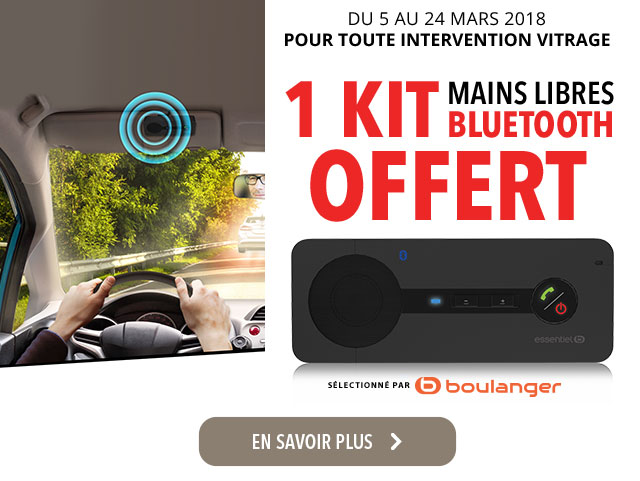 carglass® offre kit mains libres bluetooth