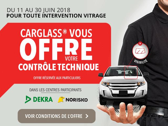 carglass® vous offre votre contrôle technique