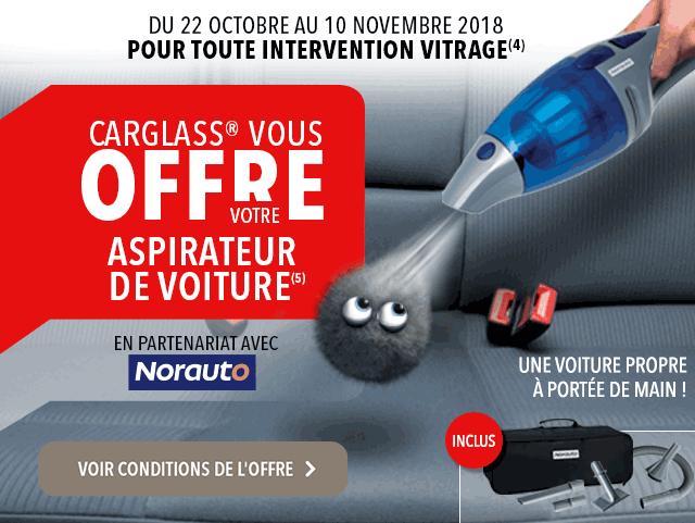 carglass® vous offre votre aspirateur norauto