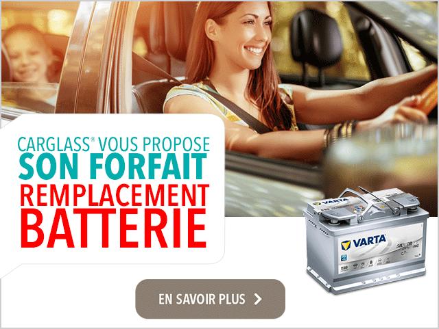 carglass® propose son forfait remplacement batterie