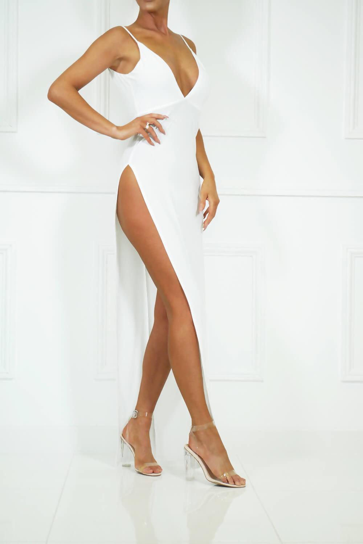 White Belinda dress