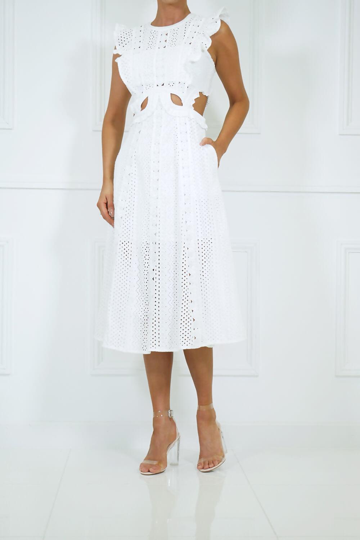 White Mischa dress