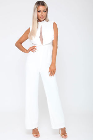 Abbie Jumpsuit in White
