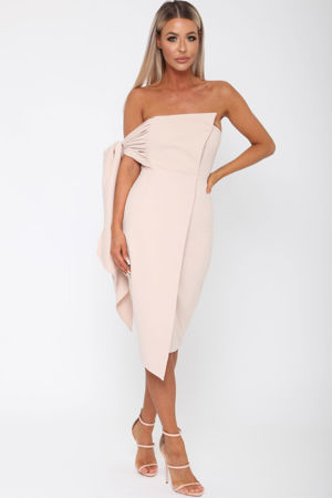 Bailey Dress in Nude