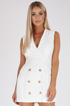 Cara Dress in Ivory