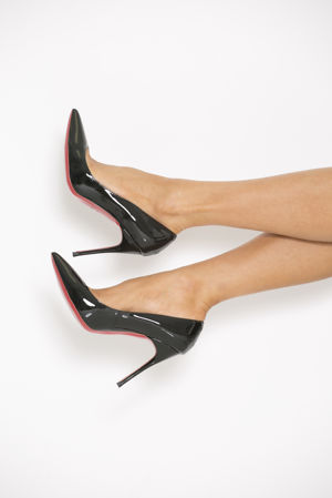 Patent Shoe In Black
