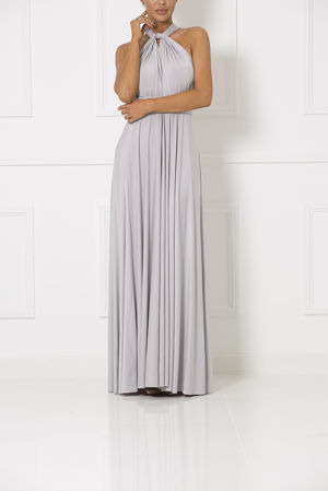 Multiway Dress In Slate Grey #65