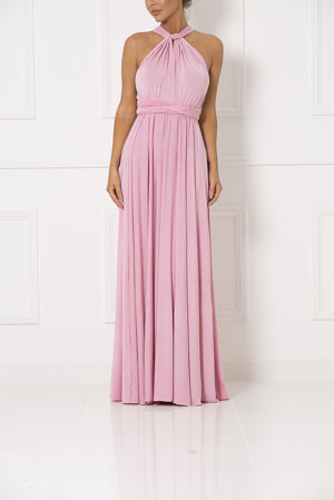 Multiway Dress in Pale Pink