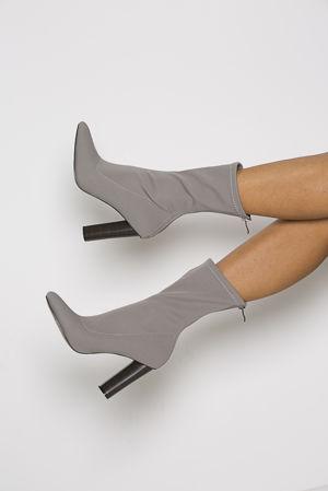 Kimye Boots in Grey