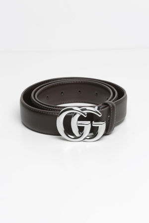 GG Belt in Brown