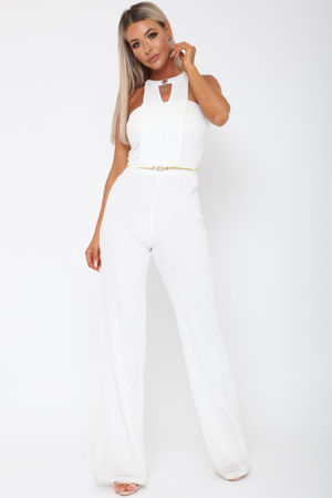 Lexx Jumpsuit in Ivory